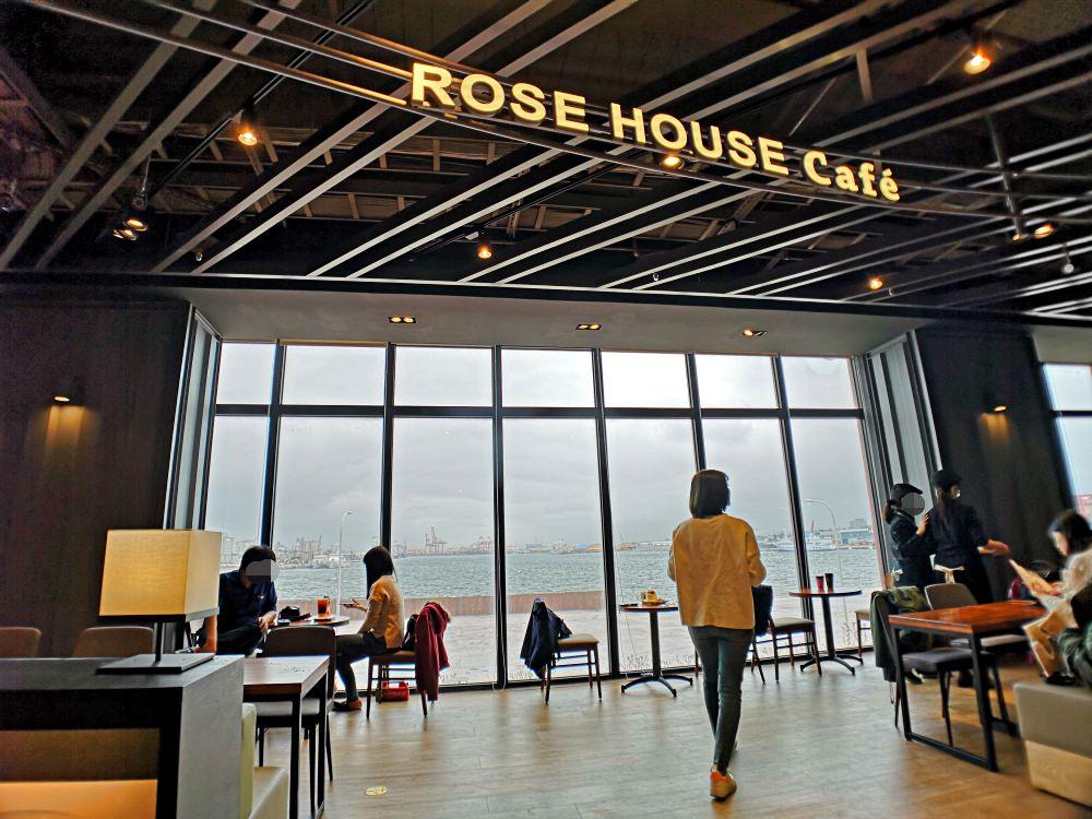 台中梧棲】三井outlet新開幕ROSE HOUSE cafe~全台最美無敵海景書店 ...