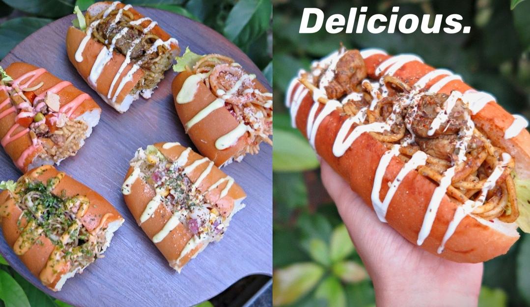 【台中西屯區】永勝炒麵麵包~逢甲夜市老字號品牌,排隊才買得到銅板美食!共有五種創意口味,還有隱藏版餐點喔。