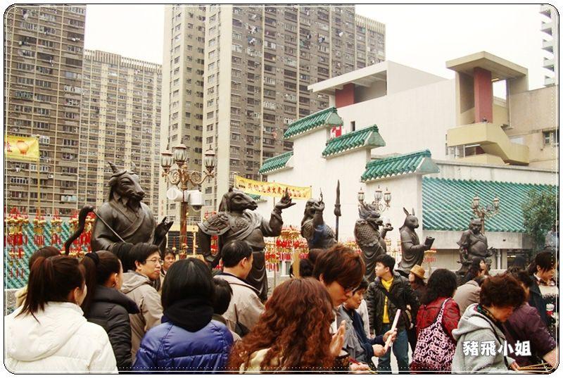 香港黃大仙廟 (8)