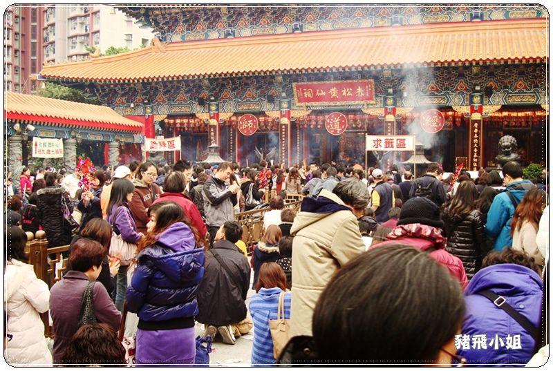 香港黃大仙廟 (10)