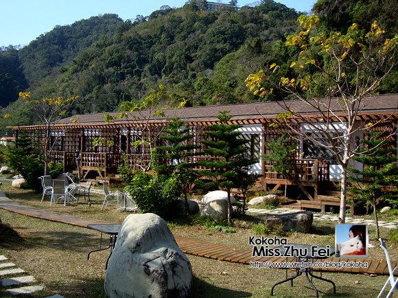 【苗栗】石壁溫泉。台灣山城裡的villa溫泉