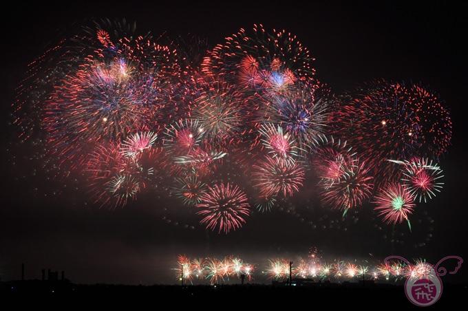 【彰化】100年國慶快樂,煙火好美