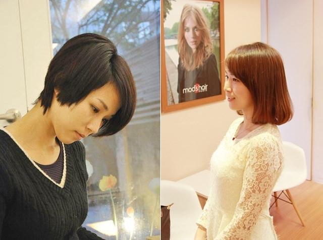 【造型】久違的中長髮造型燙髮紀錄(台北mods hair敦化店)