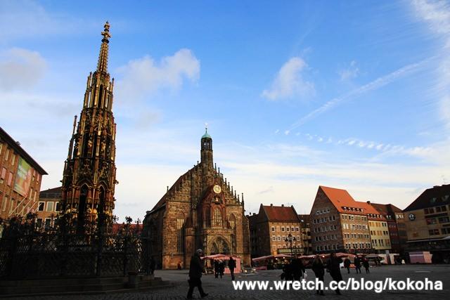 【德國】紐倫堡~遊走在超美教堂的旅行